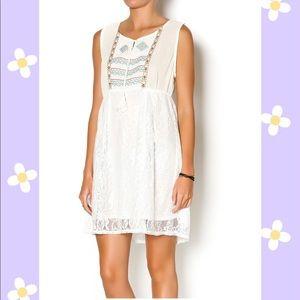 Umgee Aztec & Lace Dress